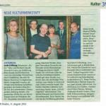 Artikel_NÖN Baden,BerichtEröffnung K&KWerkstatt,8.14
